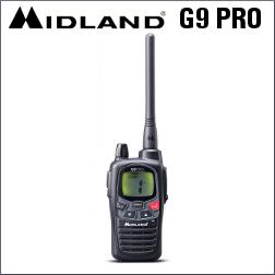 MIDLAND G9 PRO PMR446 DE 101 CANALES