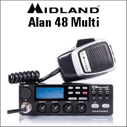 MIDLAND ALAN 48 MULTI RADIO DE BANDA CIUDADANA