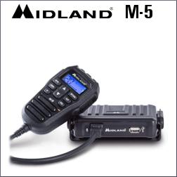 MIDLAND M-5 40 CANALES AM/FM Y MICROFONO MULTIFUNCION