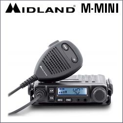 MIDLAND M-MINI EMISORA DE 40 CANALES AM/FM