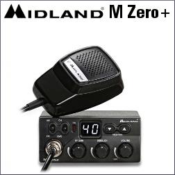 MIDLAND M ZERO PLUS EMISORA DE BANDA CIUDADANA DE 40 CANALES AM/FM