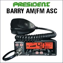 PRESIDENT BARRY AM-FM ASC EMISORA DE BANDA CIUDADANA