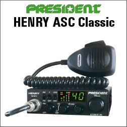 PRESIDENT HENRY ASC Classic EMISORA DE BANDA CIUDADANA