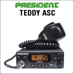 PRESIDENT TEDDY ASC EMISORA DE BANDA CIUDADANA DE 40 CANALES AM/FM
