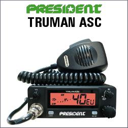 PRESIDENT TRUMAN ASC EMISORA CB 40 CANALES AM/FM