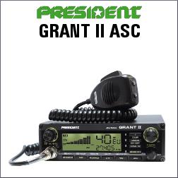 PRESIDENT GRANT II ASC DE 40 CANALES