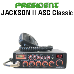 PRESIDENT JACKSON II ASC CLASSIC DE 40 CH AM/FN/LSB/USB