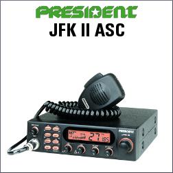 PRESIDENT JFK II ASC EMISORA CB DE 40 CANALES AM/FM