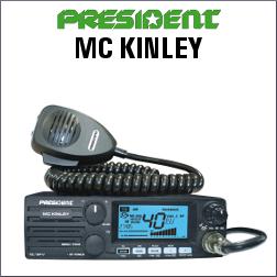 PRESIDENT MC KINLEY DE 40 CANALES AM/FM/LSB/USB