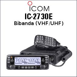 RADIO ICOM IC-2730E VHF/UHF DE 1052 CANALES