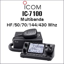 ICOM IC-7100 TRANSCEPTOR CON CONTROLADOR SEPARADO