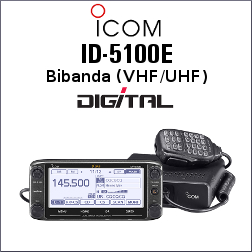 ICOM ID-5100E DIGITAL TRANSCEPTOR VHF/UHF CON CABEZAL DESMONTABLE
