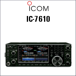 Transceptor ICOM IC-7610 HF
