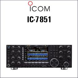 Transceptor ICOM IC-7851 HF