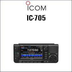 ICOM IC-705 HF TODO MODO