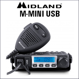 MIDLAND M-MINI USB DE 40 CANALES AM/FM