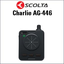 ESCOLTA CHARLIE AG-446 AUDIO GUÍA ALTAVOZ