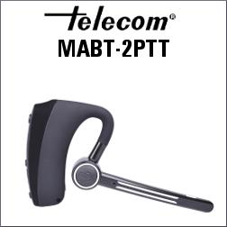 MICROAURICULAR MABT-2PTT CON BLUETOOTH Y 2 PTT