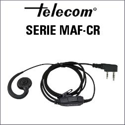 AURICULAR CON MICRÓFONO SERIE MAF-CR